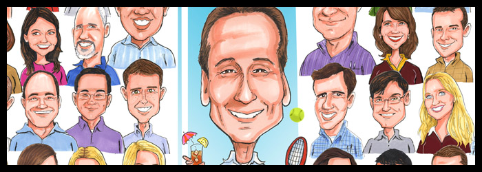 Gift Caricatures by Mark Penta