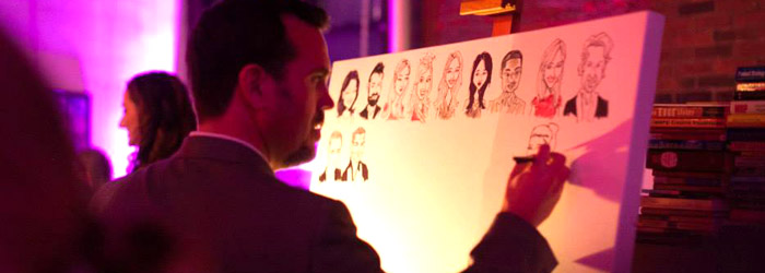 Live Event Caricatures by Mark Penta